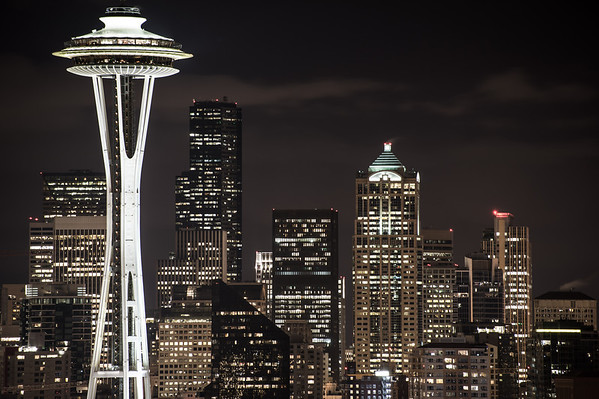 Seattle Night: Kerry Park
