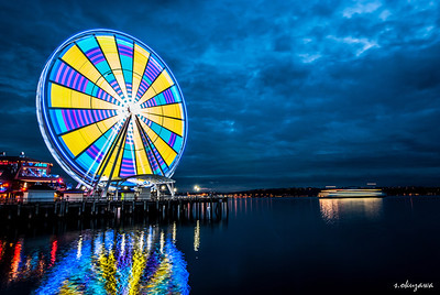 Ferris Wheel @ Seattle